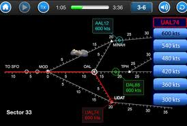 nasa sector 33 air traffic control educational app for ipad and iphone
