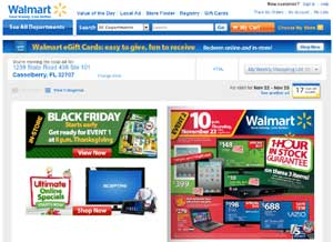 Walmart Releases their 2012 Black Friday Circular Ad for Upcoming Holiday Sale Season