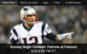 NBC Sports Lets Fans Watch Sunday Night Football Live Online
