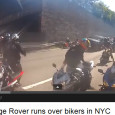 """<!-- AddThis Sharing Buttons above -->                 <div class=""""addthis_toolbox addthis_default_style """" addthis:url='http://newstaar.com/millions-watch-video-as-black-range-rover-runs-over-bikers-in-nyc/358731/'   >                     <a class=""""addthis_button_facebook_like"""" fb:like:layout=""""button_count""""></a>                     <a class=""""addthis_button_tweet""""></a>                     <a class=""""addthis_button_pinterest_pinit""""></a>                     <a class=""""addthis_counter addthis_pill_style""""></a>                 </div>A video posted to Youtube shows a black Range Rover running over a group of bikers in New York City recently. The video, filmed by one of the motorcycle riders wearing a helmet camera, has received over 4 million views on Youtube so far. The […]<!-- AddThis Sharing Buttons below -->                 <div class=""""addthis_toolbox addthis_default_style addthis_32x32_style"""" addthis:url='http://newstaar.com/millions-watch-video-as-black-range-rover-runs-over-bikers-in-nyc/358731/'  >                     <a class=""""addthis_button_preferred_1""""></a>                     <a class=""""addthis_button_preferred_2""""></a>                     <a class=""""addthis_button_preferred_3""""></a>                     <a class=""""addthis_button_preferred_4""""></a>                     <a class=""""addthis_button_compact""""></a>                     <a class=""""addthis_counter addthis_bubble_style""""></a>                 </div>"""