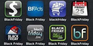 Top 2013 Black Friday & Cyber Monday Apps Make Discount Deals Comparison Shopping Easier