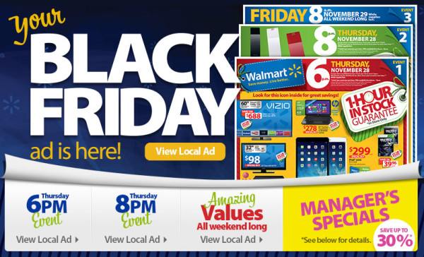 2013 Black Friday Ad Sales Flyer Released to the Public