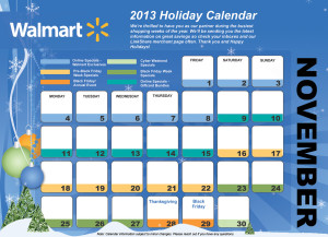 walmart-discount-2013-black-friday-ad-holiday-calendar-november