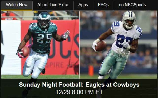 Dallas Cowboys Watch Online Game