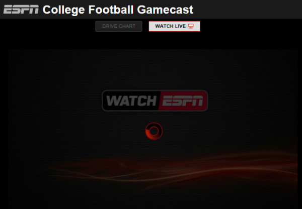 college football scheudle espn ncaaf gamecast