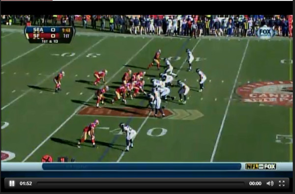 Web Site Lets Viewers Watch Seattle Seahawks and San Francisco 49ers via Free Live Online Video