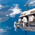 Traveling at over 17,500 miles per hour, high above the earth, astronauts on the International Space Station (ISS) are working in a dangerous spacewalk to make repairs to the ISS. NASA TV is allowing viewers on Earth to watch the space-walk on the ISS via...