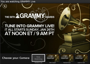 Watch 2014 Grammy Awards Online Live Free Video Stream from CBS - includes pre-show activities