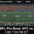 The best in the NFL, who are not playing in the Super Bowl next week, will play in the 2014 NFL Pro Bowl today in Hawaii. As the top players in NFC and AFC battle, NBC will air the game on television. Additionally, mobile device...