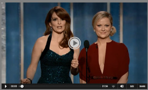 Watch 2014 Golden Globes Online as Awards Show Streams Live Video from NBC
