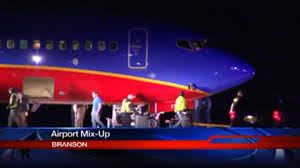 Watch Video: Southwest Airlines Lands at Wrong Airport in Branson Missouri