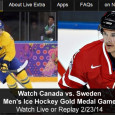 "<!-- AddThis Sharing Buttons above -->                 <div class=""addthis_toolbox addthis_default_style "" addthis:url='http://newstaar.com/watch-olympic-hockey-online-canada-vs-sweden-mens-gold-medal-game-free-live-and-replay-video-streams/359985/'   >                     <a class=""addthis_button_facebook_like"" fb:like:layout=""button_count""></a>                     <a class=""addthis_button_tweet""></a>                     <a class=""addthis_button_pinterest_pinit""></a>                     <a class=""addthis_counter addthis_pill_style""></a>                 </div>Today undefeated Sweden and team Canada meet on the ice in the Gold medal men's hockey match in Sochi. Airing at 5am eastern, you'll have to get up early to watch it live. Fortunately, there is a way to watch the Canada-Sweden Men's Hockey Gold […]<!-- AddThis Sharing Buttons below -->                 <div class=""addthis_toolbox addthis_default_style addthis_32x32_style"" addthis:url='http://newstaar.com/watch-olympic-hockey-online-canada-vs-sweden-mens-gold-medal-game-free-live-and-replay-video-streams/359985/'  >                     <a class=""addthis_button_preferred_1""></a>                     <a class=""addthis_button_preferred_2""></a>                     <a class=""addthis_button_preferred_3""></a>                     <a class=""addthis_button_preferred_4""></a>                     <a class=""addthis_button_compact""></a>                     <a class=""addthis_counter addthis_bubble_style""></a>                 </div>"