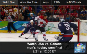 Watch Olympic Hockey Online – USA vs. Canada Men's Semi-final Game - Free Live and Replay Video Streams