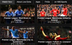 live premier league matches online