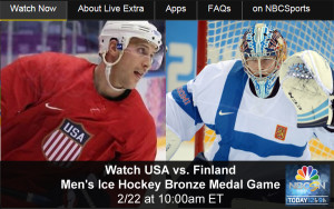 Watch Olympic Hockey Online – USA vs. Finland Men's Bronze Medal Game - Free Live and Replay Video Streams