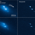 Over a period of months, NASA's Hubble Space Telescope has recorded the never-before-seen break-up of an asteroid. The disintegrating Asteroid, dubbed P/2013 R3 can be seen in the images breaking up to as many as 10 smaller pieces. According to NASA, this is the first...