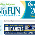 """In just a matter of days, Lakeland Florida will once again become the temporary Mecca of aviation as the flying community, and thousands of spectator, descend on the area creating the 2nd largest airshow and fly-in in the world known as Sun-n-Fun. The 2014 Sun-n-Fun […]<!-- AddThis Sharing Buttons below -->                 <div class=""""addthis_toolbox addthis_default_style addthis_32x32_style"""" addthis:url='http://newstaar.com/annual-sun-n-fun-fly-in-and-airshows-just-over-a-week-away/3510228/' addthis:title='Annual Sun-n-Fun Fly-in and Airshows just Over a Week Away' >                     <a class=""""addthis_button_preferred_1""""></a>                     <a class=""""addthis_button_preferred_2""""></a>                     <a class=""""addthis_button_preferred_3""""></a>                     <a class=""""addthis_button_preferred_4""""></a>                     <a class=""""addthis_button_compact""""></a>                     <a class=""""addthis_counter addthis_bubble_style""""></a>                 </div>"""
