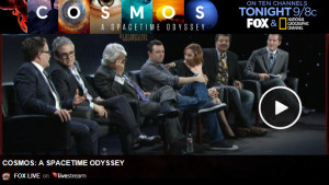 Watch Online Video: COSMOS Premier Begins Tonight on FOX – National Geographic and 8 other Channels