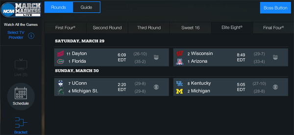 watch-elite-eight-8-online-ncaa-basketball-live-stream-florida-dayton-wisconsin-arizona-uconn-michigan-kentucky