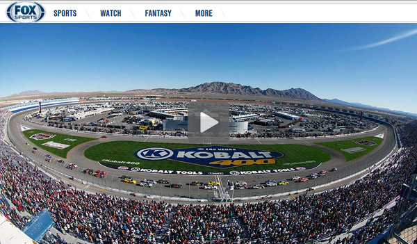 Watch NASCAR Kobalt 400 Online – Live Video Stream of Sprint Cup Race from Las Vegas