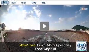 Watch Food City 500 Online Live Nascar Video Stream