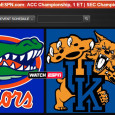 "<!-- AddThis Sharing Buttons above -->                 <div class=""addthis_toolbox addthis_default_style "" addthis:url='http://newstaar.com/watch-sec-championship-online-florida-kentucky-via-free-live-video-stream/3510152/'   >                     <a class=""addthis_button_facebook_like"" fb:like:layout=""button_count""></a>                     <a class=""addthis_button_tweet""></a>                     <a class=""addthis_button_pinterest_pinit""></a>                     <a class=""addthis_counter addthis_pill_style""></a>                 </div>The second big championship game in the NCAA gets underway this afternoon as No. 1 ranked Florida and Kentucky play for the SEC Championship. As they did for the ACC game earlier today, ESPN will carry the television broadcast of the game, and will also […]<!-- AddThis Sharing Buttons below -->                 <div class=""addthis_toolbox addthis_default_style addthis_32x32_style"" addthis:url='http://newstaar.com/watch-sec-championship-online-florida-kentucky-via-free-live-video-stream/3510152/'  >                     <a class=""addthis_button_preferred_1""></a>                     <a class=""addthis_button_preferred_2""></a>                     <a class=""addthis_button_preferred_3""></a>                     <a class=""addthis_button_preferred_4""></a>                     <a class=""addthis_button_compact""></a>                     <a class=""addthis_counter addthis_bubble_style""></a>                 </div>"