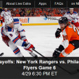 "<!-- AddThis Sharing Buttons above -->                 <div class=""addthis_toolbox addthis_default_style "" addthis:url='http://newstaar.com/watch-nhl-playoffs-new-york-rangers-vs-philadelphia-flyers-online-live-video-stream-of-game-6/3510584/'   >                     <a class=""addthis_button_facebook_like"" fb:like:layout=""button_count""></a>                     <a class=""addthis_button_tweet""></a>                     <a class=""addthis_button_pinterest_pinit""></a>                     <a class=""addthis_counter addthis_pill_style""></a>                 </div>The NHL Playoffs continue tonight as the New York Rangers head into Game 6 of the Eastern Conference against the Philadelphia Flyers. Hocky fans will tune in to watch the big game tonight and can watch the Ranger-Flyer NHL playoff game online via a live […]<!-- AddThis Sharing Buttons below -->                 <div class=""addthis_toolbox addthis_default_style addthis_32x32_style"" addthis:url='http://newstaar.com/watch-nhl-playoffs-new-york-rangers-vs-philadelphia-flyers-online-live-video-stream-of-game-6/3510584/'  >                     <a class=""addthis_button_preferred_1""></a>                     <a class=""addthis_button_preferred_2""></a>                     <a class=""addthis_button_preferred_3""></a>                     <a class=""addthis_button_preferred_4""></a>                     <a class=""addthis_button_compact""></a>                     <a class=""addthis_counter addthis_bubble_style""></a>                 </div>"