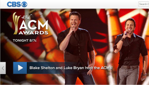 Watch ACM Country Music Awards Online – Live Video Stream from CBS of 2014 Awards Show