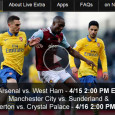 Premier League play features some great matches mid-week this week for soccer fans. The games include: Arsenal vs. West Ham on Tuesday and Manchester City vs. Sunderland, and Everton vs. Crystal Palace on Wednesday. All three games will air at 2PM eastern, however only 2...