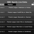 In the Premier League today, 12 teams play in six great matches beginning with Tottenham vs. Fulham at 7am eastern. While NBCSN will air the first 2 games Saturday, including Cardiff City vs. Stoke City at 9:45am, soccer fans will have to watch the other...
