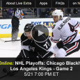 "<!-- AddThis Sharing Buttons above -->                 <div class=""addthis_toolbox addthis_default_style "" addthis:url='http://newstaar.com/watch-nhl-playoffs-online-chicago-blackhawks-vs-los-angeles-kings-game-2/3510683/'   >                     <a class=""addthis_button_facebook_like"" fb:like:layout=""button_count""></a>                     <a class=""addthis_button_tweet""></a>                     <a class=""addthis_button_pinterest_pinit""></a>                     <a class=""addthis_counter addthis_pill_style""></a>                 </div>Continuing into the third round of the Stanley Cup playoffs, tonight on NBCSN, its Game 2 of the Western Conference finals. Complementing its TV coverage, the network makes it easy to also watch the NHL Playoffs Chicago Blackhawks vs. Los Angeles Kings online via a […]<!-- AddThis Sharing Buttons below -->                 <div class=""addthis_toolbox addthis_default_style addthis_32x32_style"" addthis:url='http://newstaar.com/watch-nhl-playoffs-online-chicago-blackhawks-vs-los-angeles-kings-game-2/3510683/'  >                     <a class=""addthis_button_preferred_1""></a>                     <a class=""addthis_button_preferred_2""></a>                     <a class=""addthis_button_preferred_3""></a>                     <a class=""addthis_button_preferred_4""></a>                     <a class=""addthis_button_compact""></a>                     <a class=""addthis_counter addthis_bubble_style""></a>                 </div>"