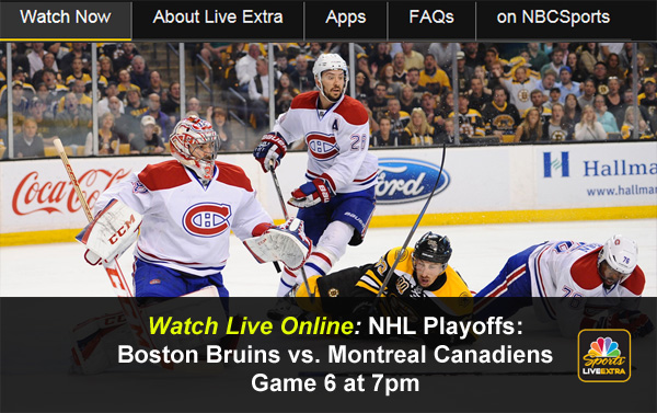 Watch Canadien Game Live