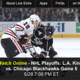 With a chance to close out the series and head into the Stanley Cup finals, the LA Kings head to Chicago tonight to take on the Blackhawks in game 5 of the Western Conference finals. For NHL playoff fans away from a TV, its free...