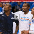 "<!-- AddThis Sharing Buttons above -->                 <div class=""addthis_toolbox addthis_default_style "" addthis:url='http://newstaar.com/nba-playoffs-watch-online-free-live-video-of-pacers-wizards-and-thunder-clippers/3510669/'   >                     <a class=""addthis_button_facebook_like"" fb:like:layout=""button_count""></a>                     <a class=""addthis_button_tweet""></a>                     <a class=""addthis_button_pinterest_pinit""></a>                     <a class=""addthis_counter addthis_pill_style""></a>                 </div>Tonight it's a critical game 6 double-header in the NBA playoffs featuring the Pacers vs. Wizards followed by Thunder vs. Clippers. Both games air tonight on ESPN, and for mobile viewers, they can watch the NBA playoffs online via a free live video stream from […]<!-- AddThis Sharing Buttons below -->                 <div class=""addthis_toolbox addthis_default_style addthis_32x32_style"" addthis:url='http://newstaar.com/nba-playoffs-watch-online-free-live-video-of-pacers-wizards-and-thunder-clippers/3510669/'  >                     <a class=""addthis_button_preferred_1""></a>                     <a class=""addthis_button_preferred_2""></a>                     <a class=""addthis_button_preferred_3""></a>                     <a class=""addthis_button_preferred_4""></a>                     <a class=""addthis_button_compact""></a>                     <a class=""addthis_counter addthis_bubble_style""></a>                 </div>"