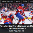 With a 3-1 lead in the series the New York Rangers look to close out the 7 game series with a win tonight over the Montreal Canadiens. Airing on NBCSN for television viewers, NHL Playoff fans can also watch the Rangers-Canadiens game 5 online via...