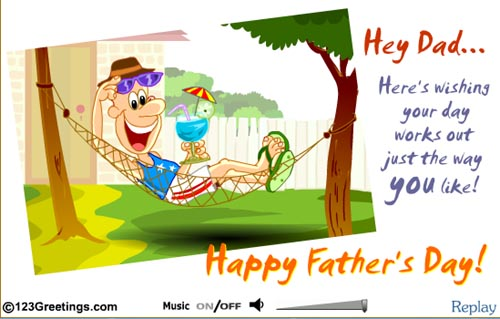 Free Father's Day eCards Online – a Sure Way to Make Dad Smile