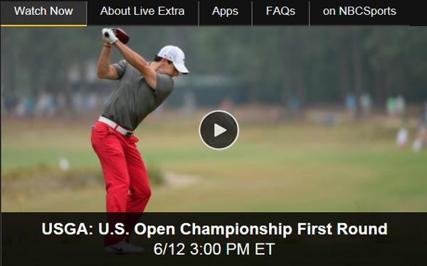 Watch 2014 U.S. Open Online: Free Live Video Stream from Pinehurst