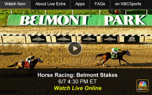 Watch Belmont Stakes Online - Free Live Video of Horse Racing Triple Crown from NBC Sports