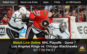 Blackhawks-Kings: Watch Online Game 7 of NHL Playoffs via Free Live Video Stream
