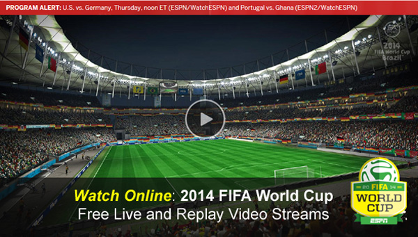 world cup 2014 free online streaming