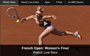 watch the french open