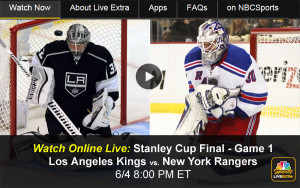 Watch Rangers-Kings Online in NHL Stanley Cup Championship Game 1 - Live Video Stream