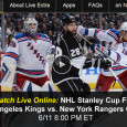 With the 3-0 lead in the Stanley Cup finals, the Los Angeles Kings have the chance to win it all in the NHL tonight as they face the New York Rangers in Game 4. For viewers without access to the NBCSN channel, there is a...