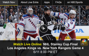 Watch NHL Stanley Cup Online: Rangers-Kings Game 4 Free Live Video Stream