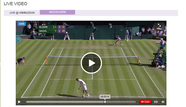 Watch Wimbledon Online – 2 Free Live Video Streams Provide Complete Access