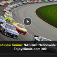 While the Sprint Cup series takes a break this weekend, all eyes turn to the NASCAR Nationwide Series at the Chicagoland Speedway today. While ESPN2 will broadcast the television coverage, mobile race fans get to watch the NASCAR EnjoyIllinois.com 300 online via a free live...