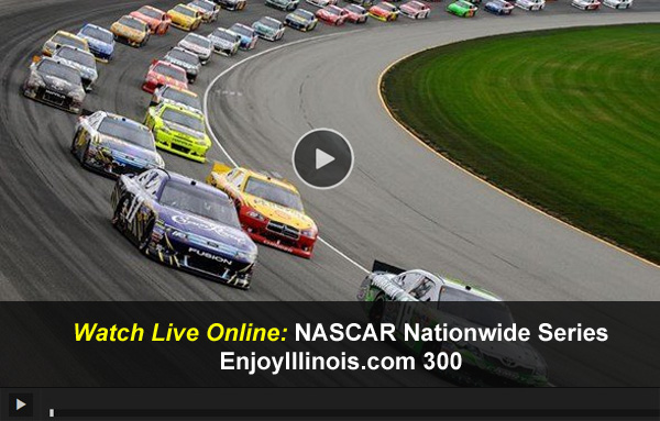 Com 300 online free live video stream from chicagoland speedway