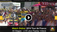 This morning riders take on Stage 14 of the 2014 Tour de France, with live coverage for cycling fans beginning at 7am eastern time. While NBC sports is broadcasting much of the race on television, fans can watch every stage of the tour de France...