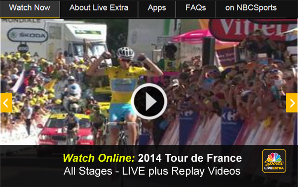 Watch 2014 Tour de France Online – Free Live Video Stream and Replays of Every Stage