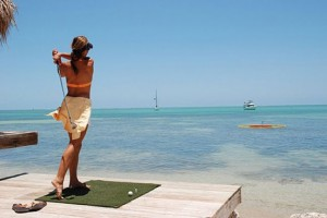 Conch Scramble –On the Water Golf Tournament to Raise Money for Charity in Florida Keys